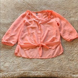 Maurices Button. up Blouse